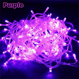 DEALS FOR LESS - 1M LED String Fairy Lights, Waterproof Decorative Light for Indoor & Outdoor. Purple Color.