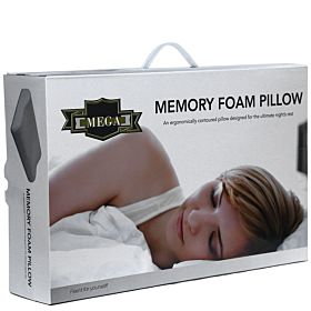 "Memory Foam Pillow Mega  ""Feel It for Your Self"""