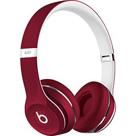 Beats Solo2 On-Ear Headphones by Dr. Dre (Luxe Edition) - Red