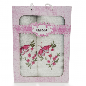 2-Piece Terry Towel Set | 100% Cotton |  Made in Turkey