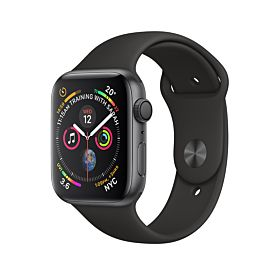 Watch Series 4 GPS Space Gray Aluminum Case With Black Sport Band 40 mm