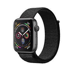 Apple Watch Series 4 GPS Space Gray Aluminum Case With Black Sport Loop 40 millimeter