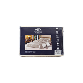 Bed sheet mega royal collection , 3 pcs set -king