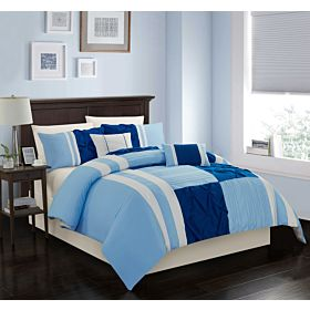Carolin home linen 8 pcs comforter sets | Model: Charm-01