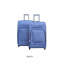Abraj Two Pcs 2 Wheel Luggage Trolley Bag - ABTR2031