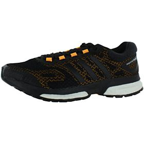 adidas Response Boost Running Shoes for Men, Core Black/Core Black/Core White