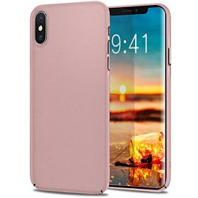 Apple iPhone Xs MAX Case Slim, Meidom Matte Scratchproof Ultra Thin Anti-fingerprint Cases for iPhone Xs MAX - Rose Gold