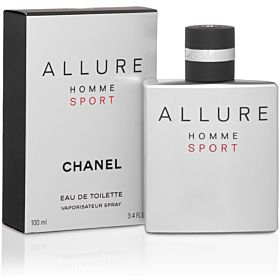 Allure Homme Sport by Chanel for Men - Eau de Toilette, 100ml