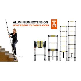 Aluminium Extension Strong Lightweight Fold able Ladder