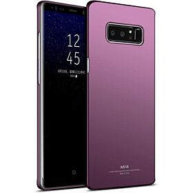 Samsung Galaxy Note 8 Case MSVII Ultra Thin Smooth & Matte Hard Back Cover Phone Cases For Samsung Galaxy Note 8 purple
