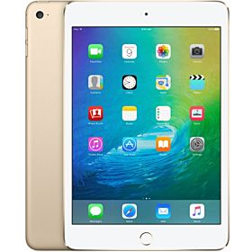 Apple iPad Mini 4 with Facetime Tablet - 7.9 Inch, 128GB, WiFi, Gold