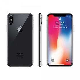 Apple iPhone X with Facetime 256GB, Space Gray, 4G LTE