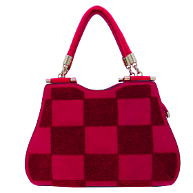 Arcad Satchel Bag For Women Red  29491