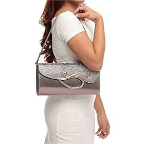 Arcad Bag For Women,Silver - Clutches 2724449664255