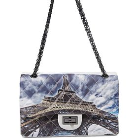 Arcad Eiffel Tower Printed Shoulder Bag