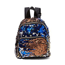 Arcad Sequin Design Backpack Brown 33321