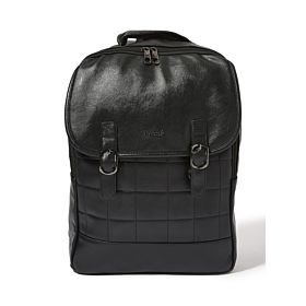 Arcad Stitch Detailed Backpack Black 33261