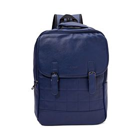 Arcad Stitch Detailed Backpack Blue 33261