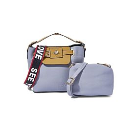 Arcad Unique Accent Crossbody Bag Blue 33572