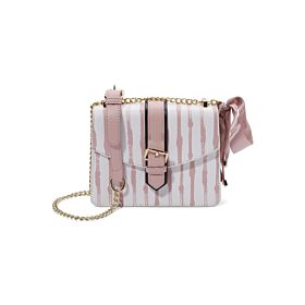 Arcad Unique Accent Crossbody Bag Pink 33508
