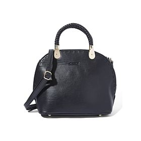 Arcad Unique Accent Shoulder Bag Black 33275