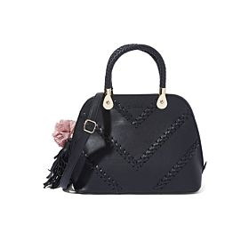 Arcad Unique Accent Shoulder Bag Black 33279
