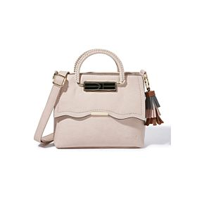 Arcad Unique Accent Shoulder Bag Pink 33287