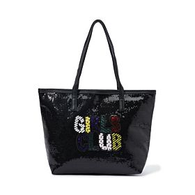 Arcad Unique Accent Tote Bag Black 33602