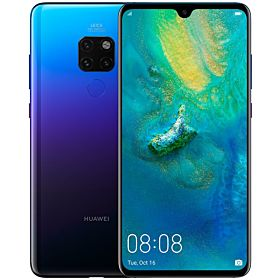 HUAWEI MATE 20 Dual Sim - 128GB, 4G LTE, Twilight