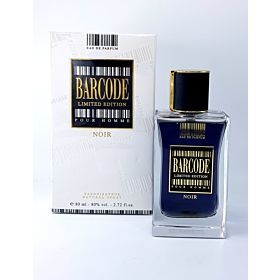 ORCHID BARCODE LIMITED EDITION POUR HOMME NOIR 80ML