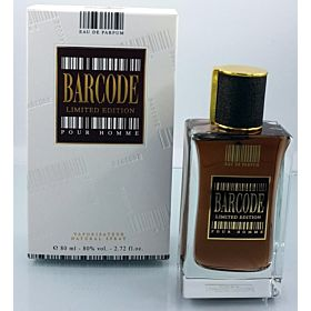 ORCHID BARCODE LIMITED EDITION POUR HOMME 80ML (BROWN)