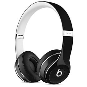 Beats Solo2 On-Ear Headphones by Dr. Dre (Luxe Edition) - Black