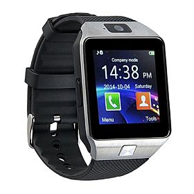 BSNL A8 Smart Watch Mobile, Black