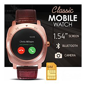 BSNL BW-49 Smart Watch Mobile, Gold
