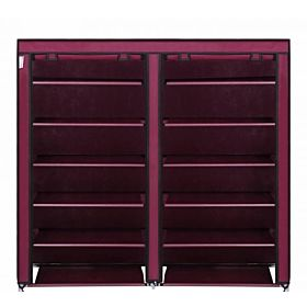 Red Shoe Holder 12 Racks