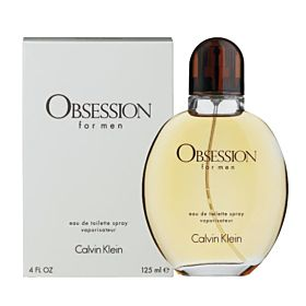 Calvin Klein Obsession Perfume For Men 125ml Eau de Toilette