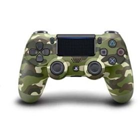 PS4 Dualshock 4 Wireless Controller- Green Camouflage