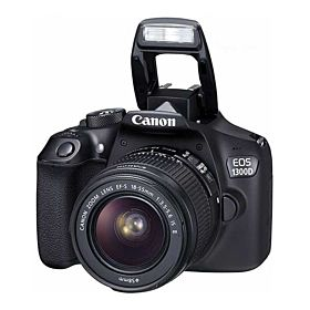 Canon EOS 1300D 18 Megapixel DSLR Camera Lens Kit 18 - 55mm III, Built-in WiFi & NFC 3 Inch LCD Screen