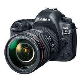 Canon EOS 5D Mark IV DSLR Camera Kit  with 24-105mm f/4L II Lens