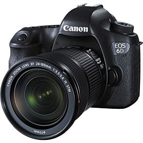 Canon EOS 6D DSLR Camera with 24-105mm f/3.5-5.6 STM Lens Kit