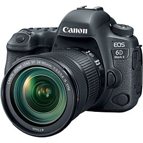 Canon EOS 6D Mark II DSLR Camera with 24-105mm f/4 Lens kit