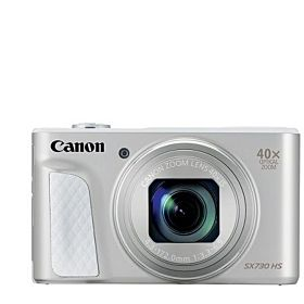 Canon PowerShot SX730 HS, 20.3MP Digital Camera - Silver