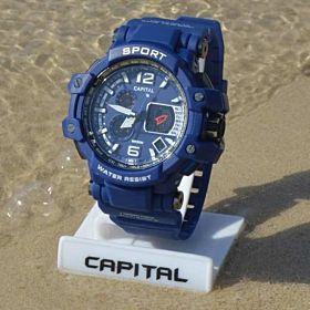 Capital Sport Watch For Men Analog-Digital Rubber - sp074366