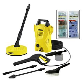Karcher K2 Basic Home Pressure Washer (110 Bars)
