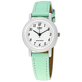Casio Ladies Classic Leather Band Watch [LQ-139L-3B]