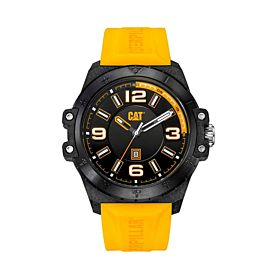 CAT Men's Water Resistant Silicone Analog Watch SH14121131