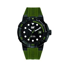 CAT Men's Water Resistant Silicone Analog Watch SI16121121