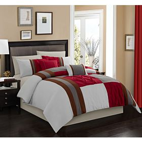Carolin home linen 8 pcs comforter sets | Model: Charm-04
