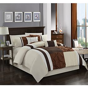 Carolin home linen 8 pcs comforter sets | Model: Charm-02