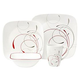 Corelle Square Splendor 16pc Dinnerware Set